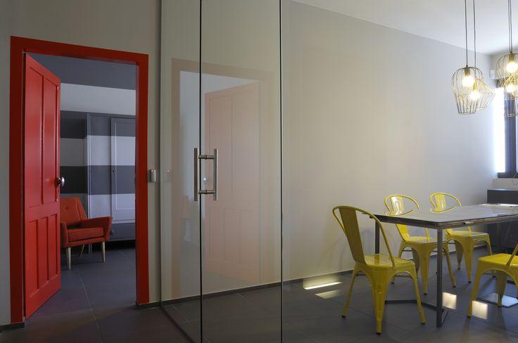 progetto di interni uffici commerciali project design deposito creativo  decoration, design e recupero  http://www.depositocreativo.it/featured_item/progettazione-contract-dimensione-vending-srl/
