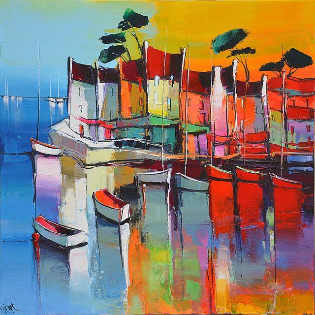 Eric Le Pape, artiste peintre de Bretagne   Peintures d'ailleurs : Tunisie, Vietnam, terrasses, souk...