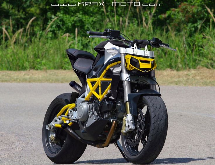 Krax Moto Bimota Fighter Concept.