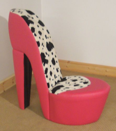 Funky Stiletto / High Heel Chair Animal Print