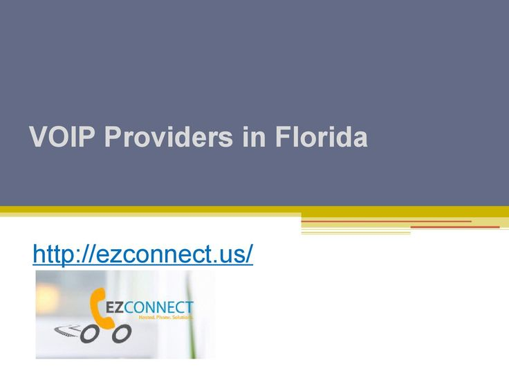 Talk about the best VOIP services and http://ezconnect.us/ is one of the first names that come out on top thanks to their reliable services. https://issuu.com/ezconnect01/docs/voip_providers_in_florida_-_ezconne