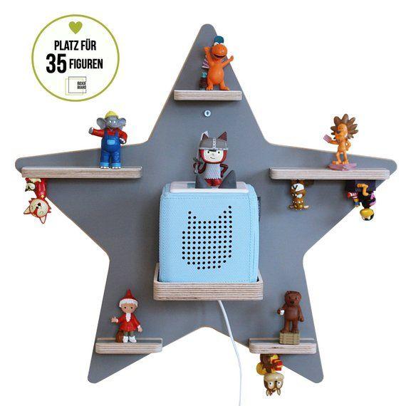 "Boxie Board ""star Grey/Matt""-the shelf for the music cube"