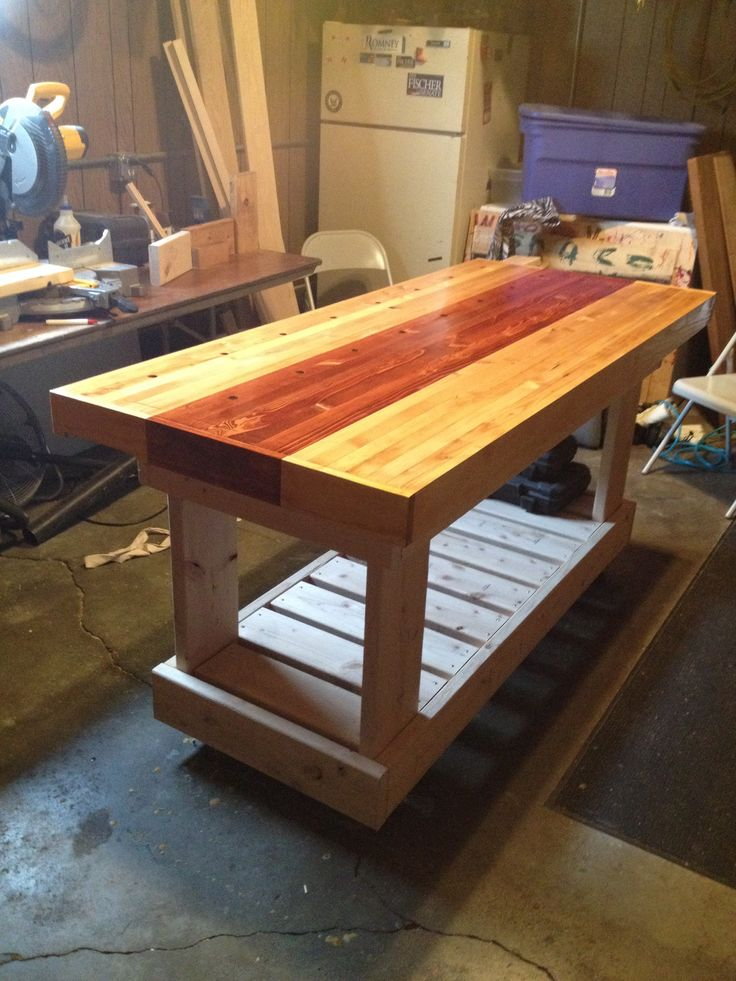 Work bench | Woodworking and refinishing | Pinterest ...