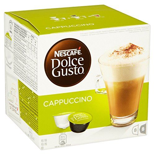 #9: Nescafe Dolce Gusto Cappuccino 16 Capsules - Pack of 3 (Total 48 Capsules 24 Servings)