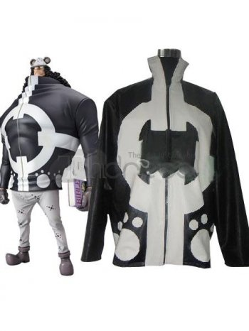 One Pice Cosplay / white black one piece bartholemew uniform cloth cosplay costumes / http://www.thdress.com/white-black-one-piece-bartholemew-uniform-cloth-cosplay-costumes-p1894.html