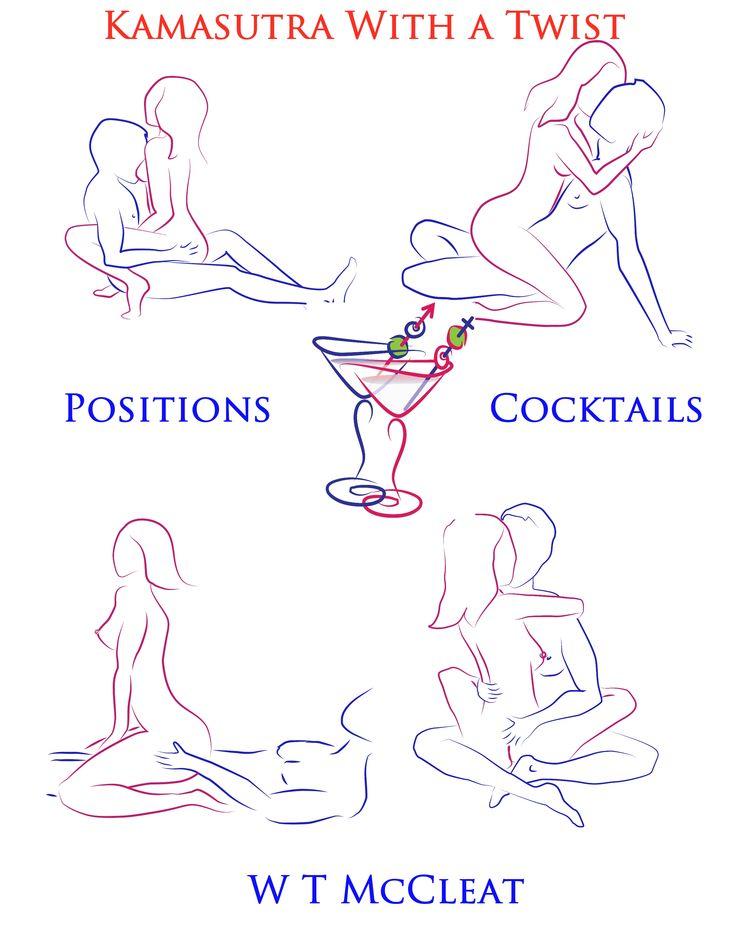 Seductive Cocktails to match each position. Kamasutra sex positions ...: pinterest.com/pin/391179917604471778