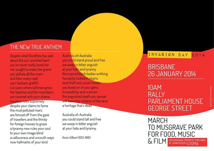 Invasion Day not Australia Day!