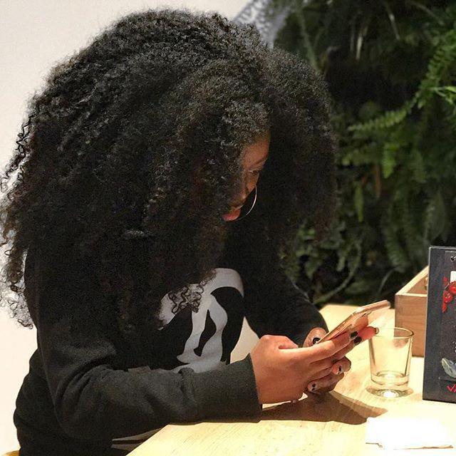 • • • #blackgirlmagic✨ #teamcurls #coils #darkskinned  #curlyfro #naturalgirlsrock  #berrycurly #naturalhairloves #voiceofhair #TheNaturalHairSpot #MYHAIRCRUSH #krullen #curlsaunaturel  #blackhairOMG #RespectMyHair #naturalhairdaily #kollectivekoils #UnconditionedRoots #kinks  #kroeshaar #blackqueen #NaturalHairDoesCare #darkgirl #vapiano #kinks #kinkyhair #blackgirlsrock #afrolatina #livinglife #blackgirlboss