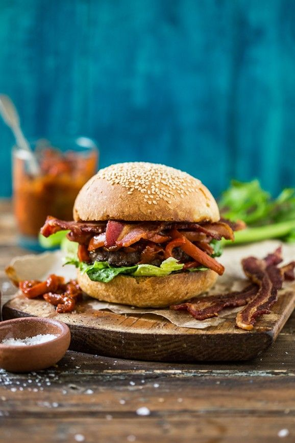 The Bloody Mary Burger