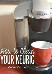 How to Clean Your Single-Serve Coffee Maker