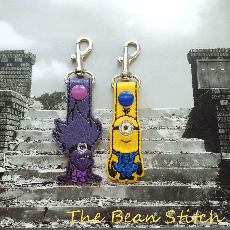 Bean Stitch minion 2-fer freebie