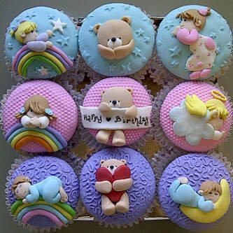 forever friends cupcakes - Cake by astrid