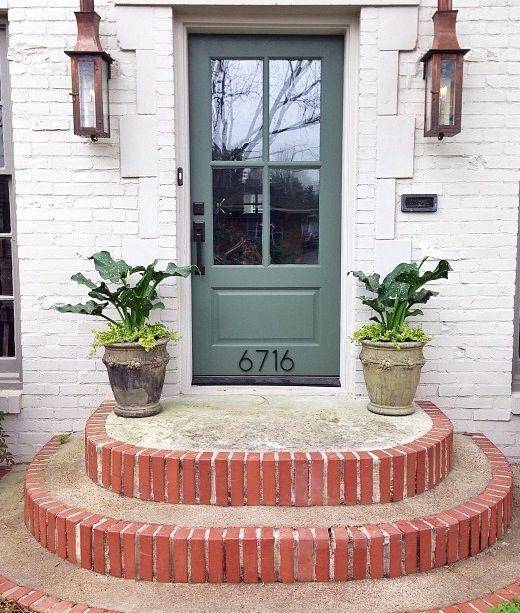 Entry Photo Credit Inspire Me Home Decor On Instagram: 1000+ Ideas About Front Door Steps On Pinterest