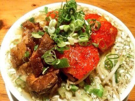 恵比寿 すずらん  完熟トマトの冷やし麺