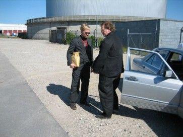 Billeder fra forskellige produktioner som Dennis Albrethsen har været involveret i Ulrich Thomsen og Dennis Albrethsen,  Blekingegadebanden