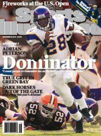 Download free Sports Illustrated September 21 2009 U.S. Open Michigan Adrian Peterson NFL Week 1 pdf