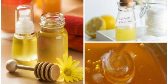 Demachiante si exfoliante cu miere preparate acasa cu ingrediente naturale