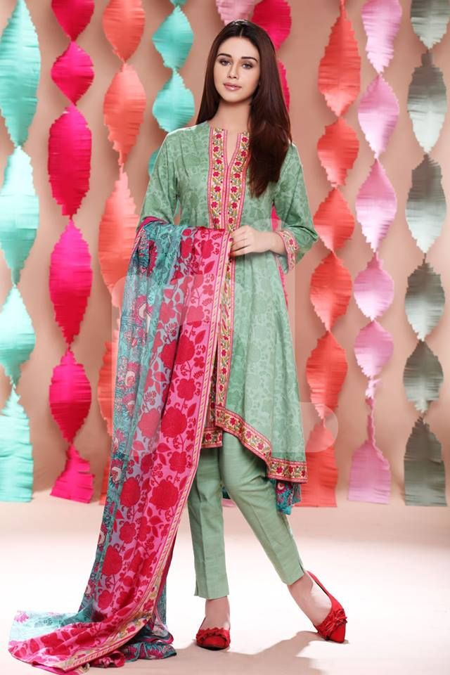 Winter Collection 2015 For Women By Nishat Linen