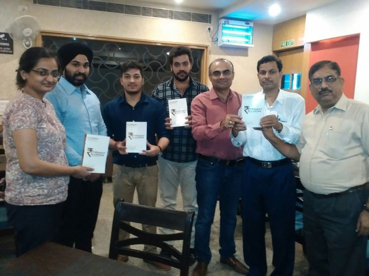 Friends and colleagues at Mohapatra's book launch event