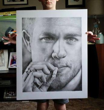 Celebrity Illustrated Portraits