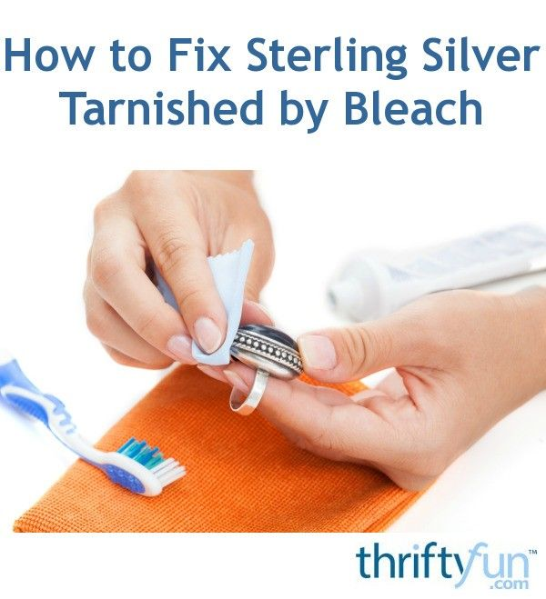 How To Get Rid Of Tarnish On Sterling Silver