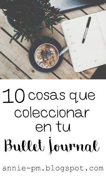 10 cosas que puedes coleccionar en tu Bullet Journal