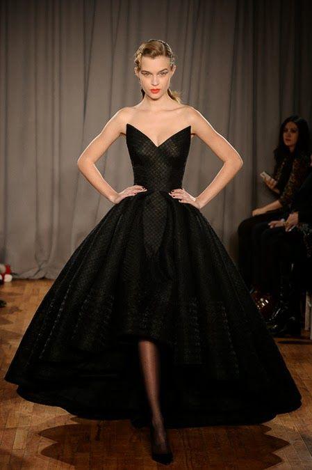 New York Fashion Week favorites Fall Winter 2014 - Parte 3  Zac Posen New York Fall Winter