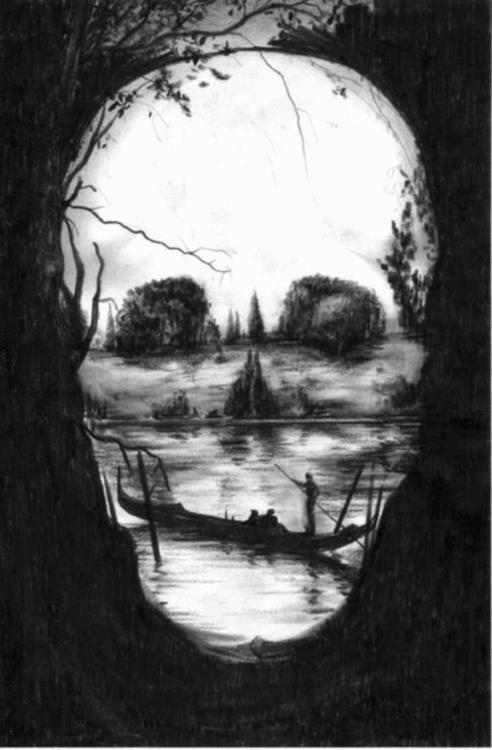 Skull scene for print?
