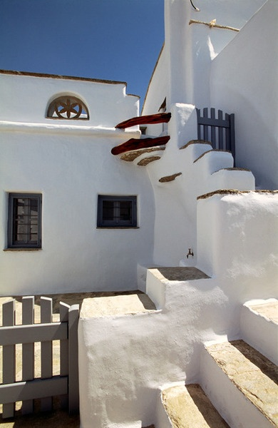 Tinos Island typical house Greece