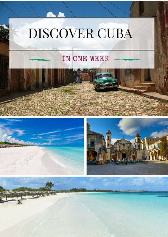 CUBA HOLIDAYS? WHAT TO DO AND SEE IN ONE WEEK! It's your first time in Cuba and you want to see everything, as much and as interesting as possible in a short time? The perfect…