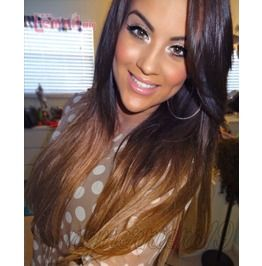 Ombre Beauty Indian Remy Full Lace Wig 18 20 Inches!!