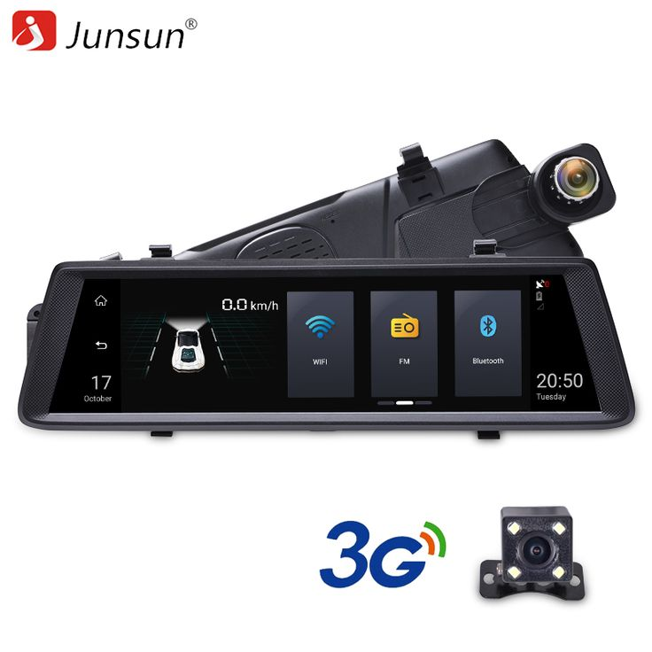 Junsun A900 3G Android 5.0 GPS Navigation Dashcam Rear view Mirror //Price: $179.38 & FREE Shipping //     #dashcam