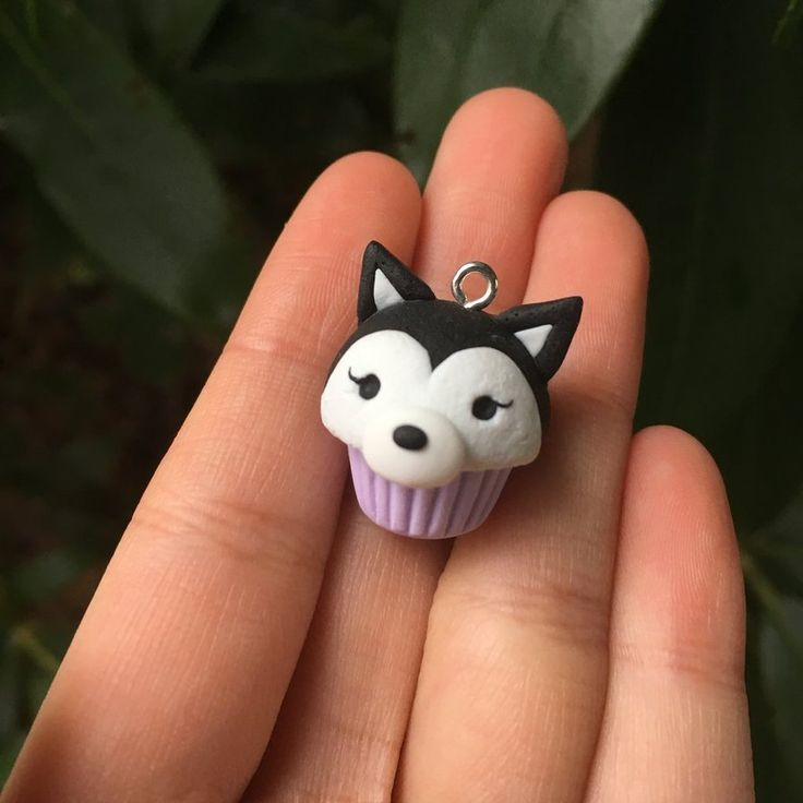 Girl Husky Cupcake by JinjinCrafts