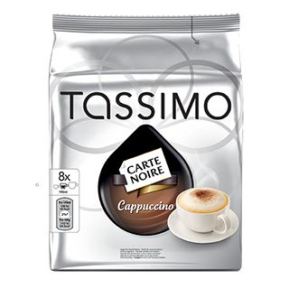 Enjoy a great Cappuccino with your TASSIMO CARTE NOIRE coffee TDISCs. Buy your CARTE NOIRE Cappuccino pods from the official UK TASSIMO webs...