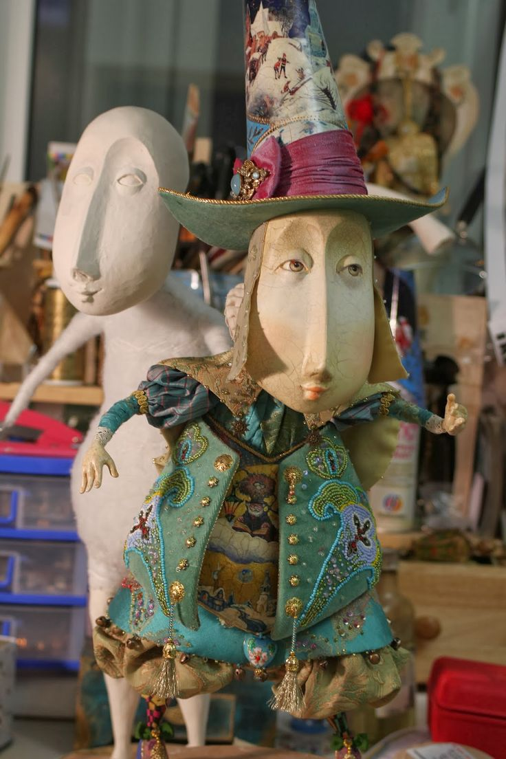 Doll workshop ANNADAN: there was a new master disc Doll lamplighter