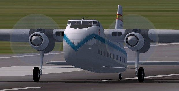 Spantax Bristol 170 Freighter Mk31E. Avión que adquiere Iberia en el Reino Unido, fue el G-AMRP, en España se matricula el 15 de Abril de 1953, primero obtiene matrícula provisional EC-WHH, en el año 1960 vuela para Aviaco hasta el año 1962 y desde el 1962 al 1963 lo hace para Spantax