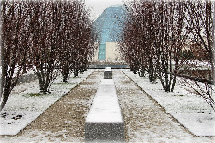 Snowfall @ Aga Khan Museum photo collection by Photography by Salim Nensi - Toronto