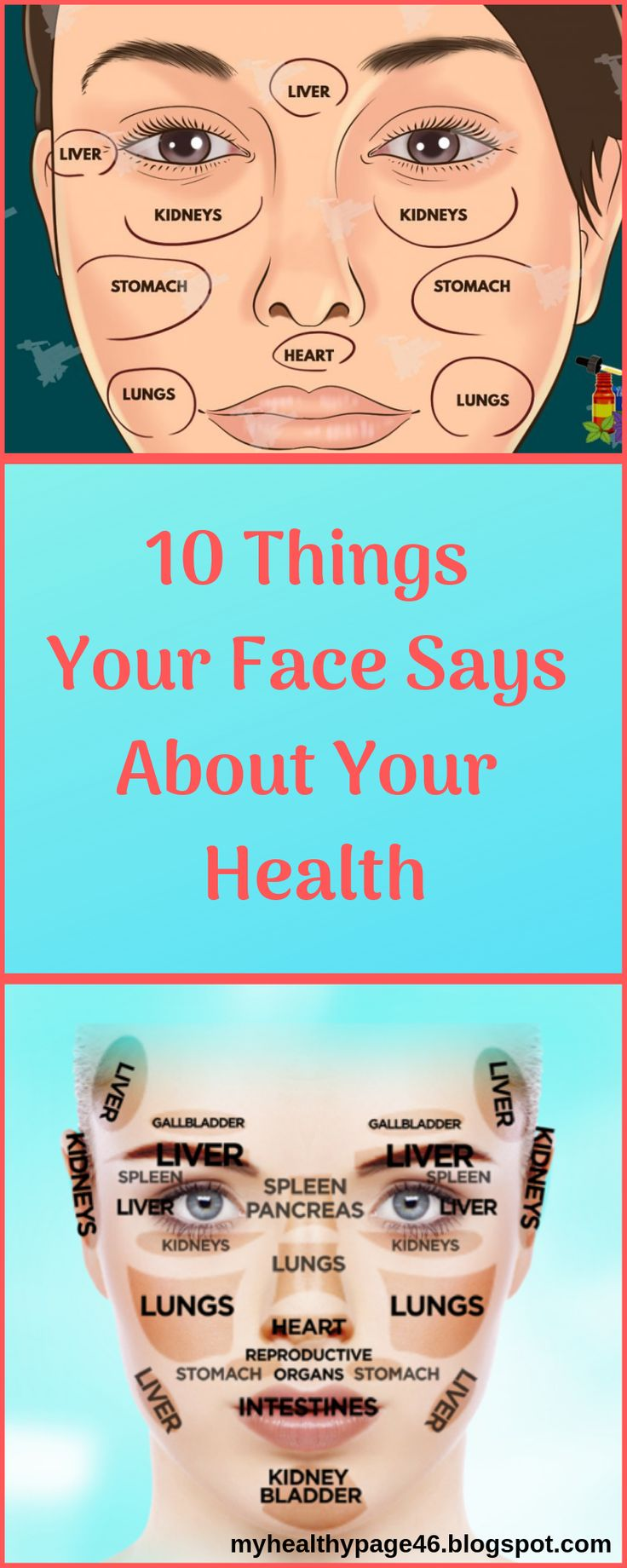 10 Things Your Face Says About Your Health