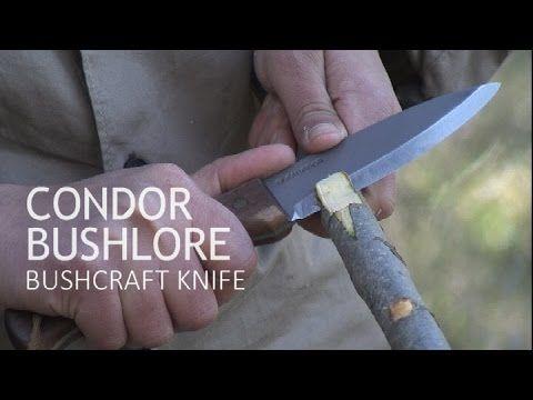 Cuchillos de supervivencia montaña o bushcraft Pruebas de monte Condor B...