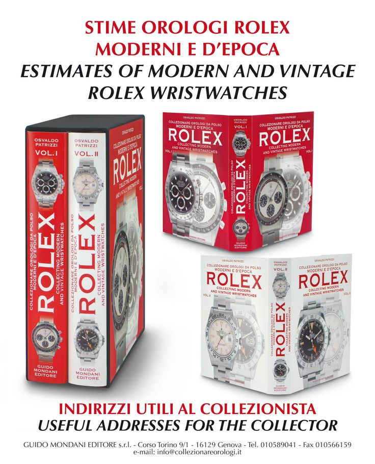 22 best books modern and vintage rolex images on pinterest enclosed are estimates of modern and vintage rolex wristwatches with more than 4000 rolex prices useful addresses for the collector with all the fandeluxe Image collections