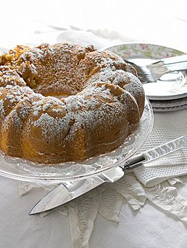 Diabetes Recipe: Peaches-and-Cream Cake#diabetic recipes