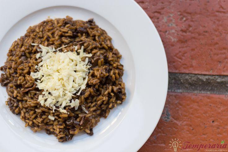Risoto ao Funghi delicioso, fácil e sem erros! O Rei dos Risotos! | Temperaria - Culinária para curtir, se apaixonar e surpreender!