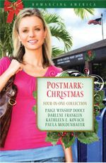 Postmark: Christmas 4-in-1 by Paige Winship Dooly, Darlene Franklin, Kathleen E. Kovach, Paula Moldenhauer: The holidays are stamped for love in Christmas, Florida ...