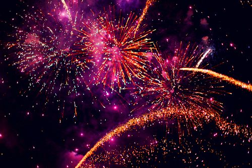 Картинка с тегом «fireworks, photography, and light»