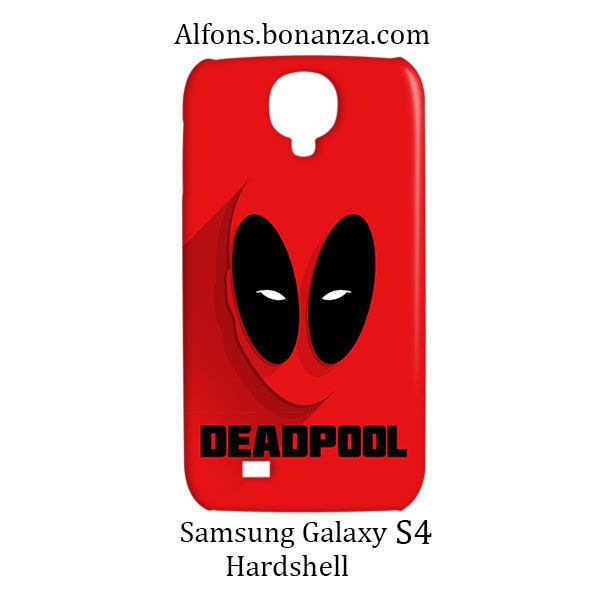 Deadpool Superhero Samsung Galaxy S4 S IV Hardshell Case