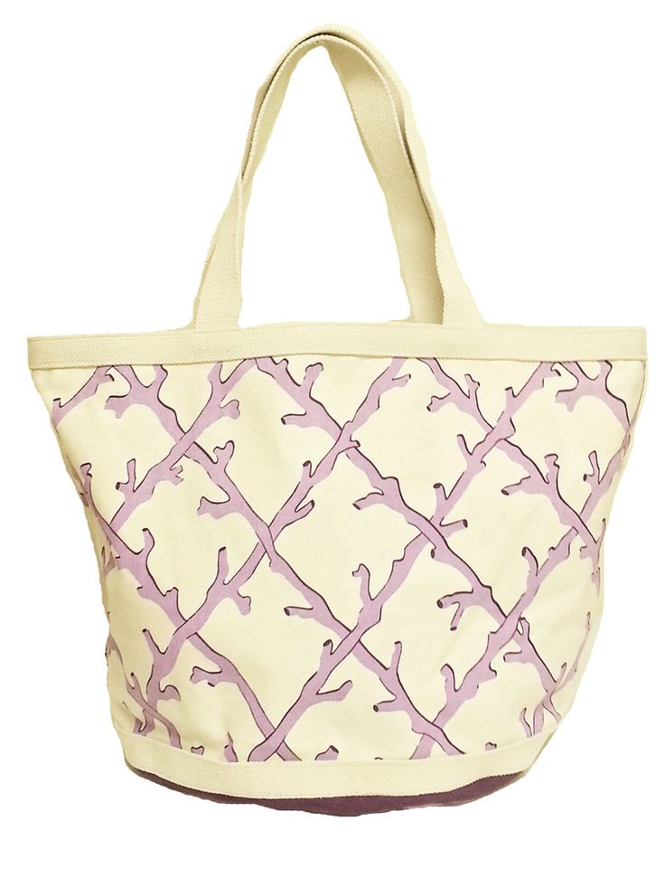 "Zippered closure  Printed Bottom bag  Large Tote Bag  Size: 23""W x 15""H x 5"" Bottom gusset  1 Bag left in this print"
