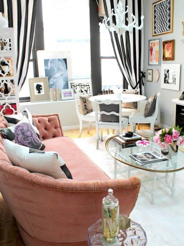 171 best Wohnen images on Pinterest Decorating ideas, Living room - wohnzimmer ideen für kleine räume