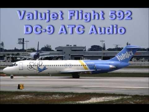 ValuJet Flight 592 McDonnell Douglas DC-9 Crash ATC FAA Audio File