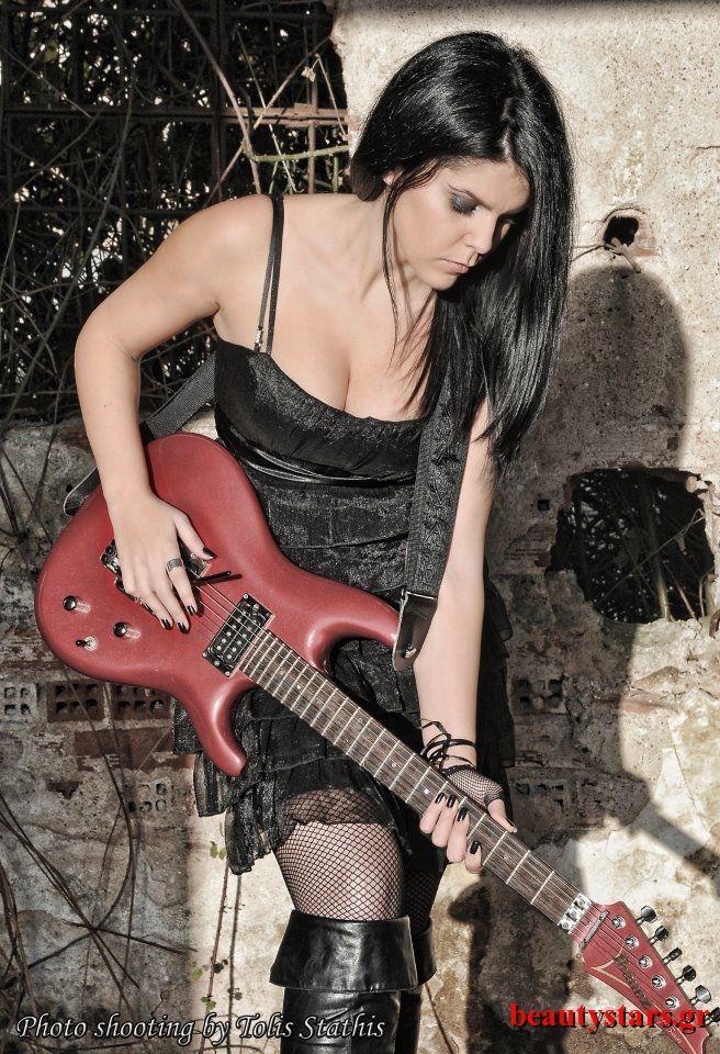 Rock Girl photoshooting