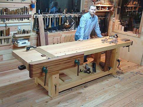 James Olivers Workbench and Shop - Popular Woodworking Magazine